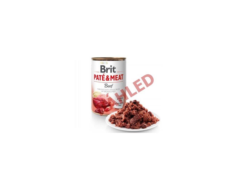 Brit patte meat beef 400g
