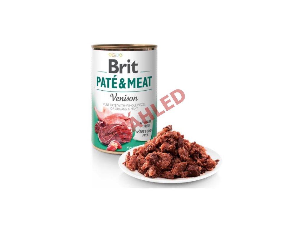 Brit Paté & Meat Venison 400g