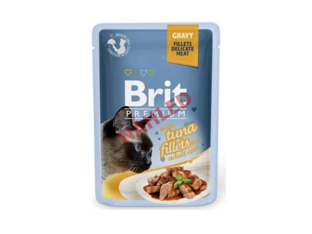 Brit Premium Cat Delicate Fillets in Gravy with Tuna 85g