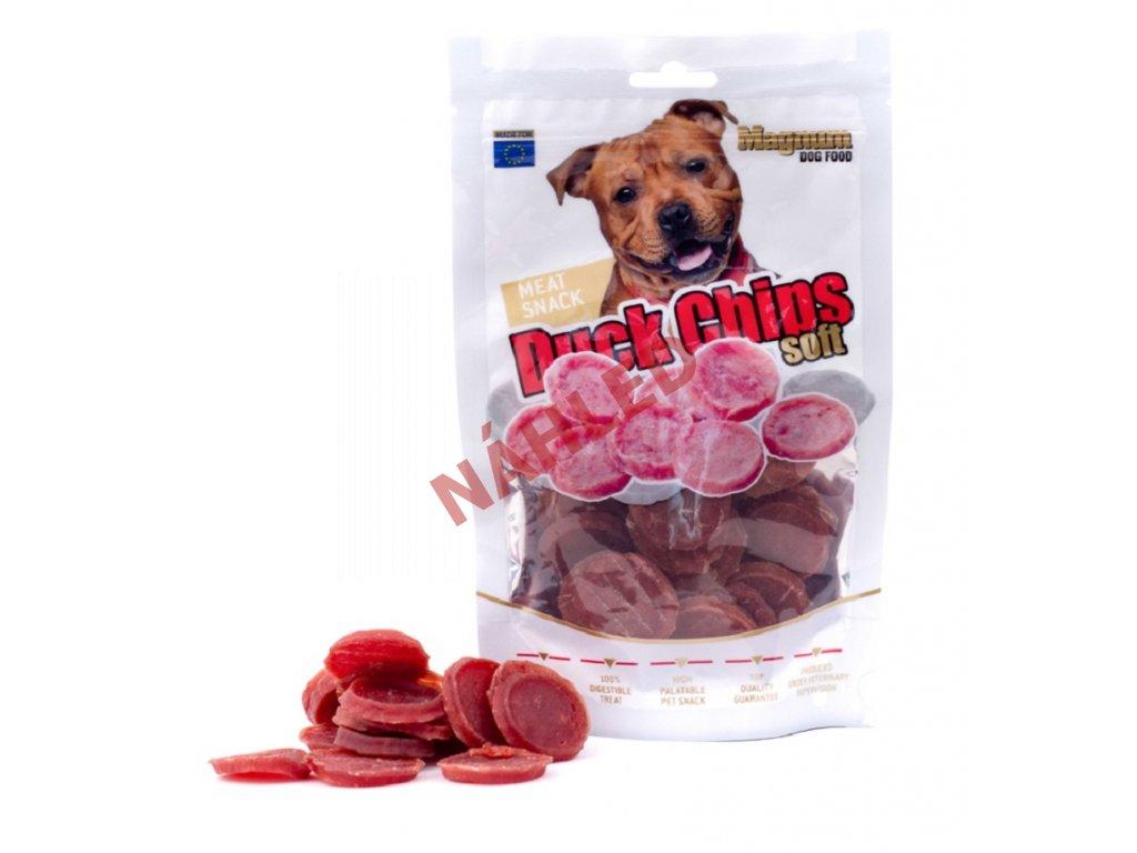Magnum sušené maso pro psy - kachní kolečka 80g