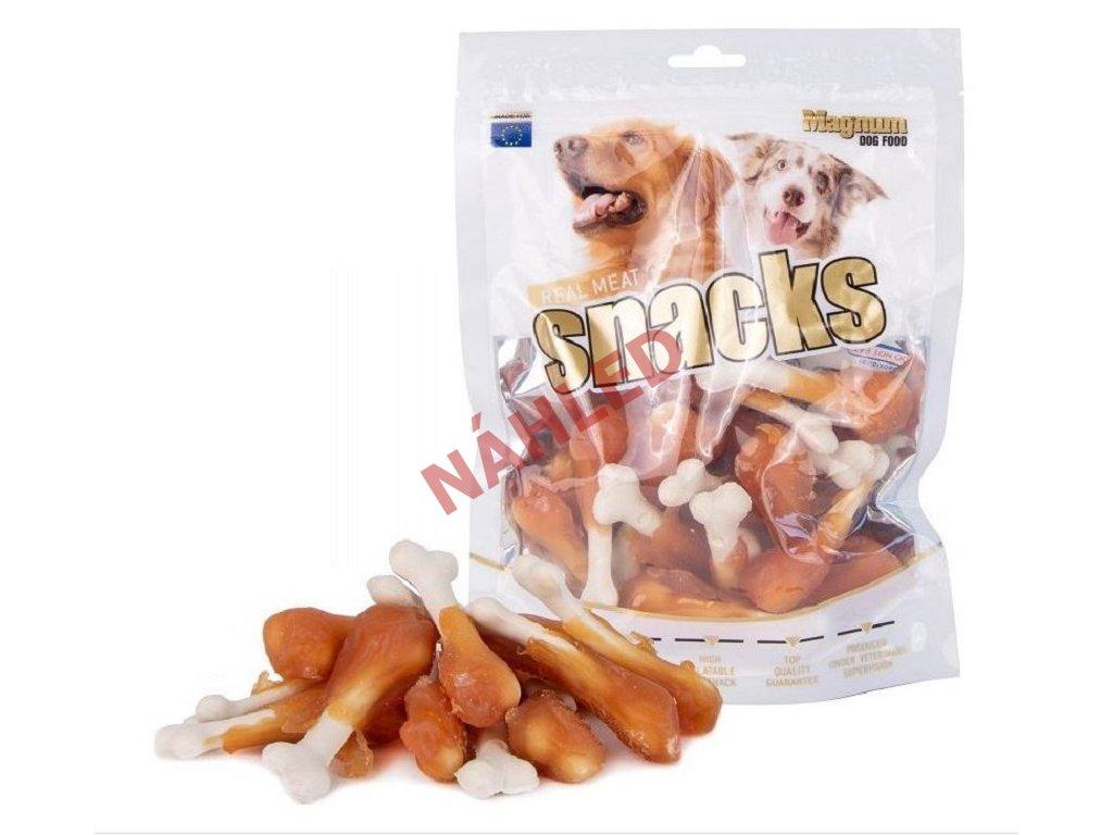 Magnum sušené maso pro psy - kuřecí s kalciovou kostičkou 250g250g