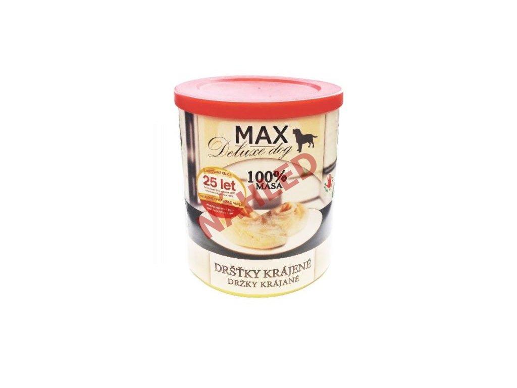 MAX deluxe krájené dršťky 800g
