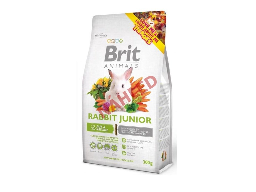 Brit animals rabbit junior 300g