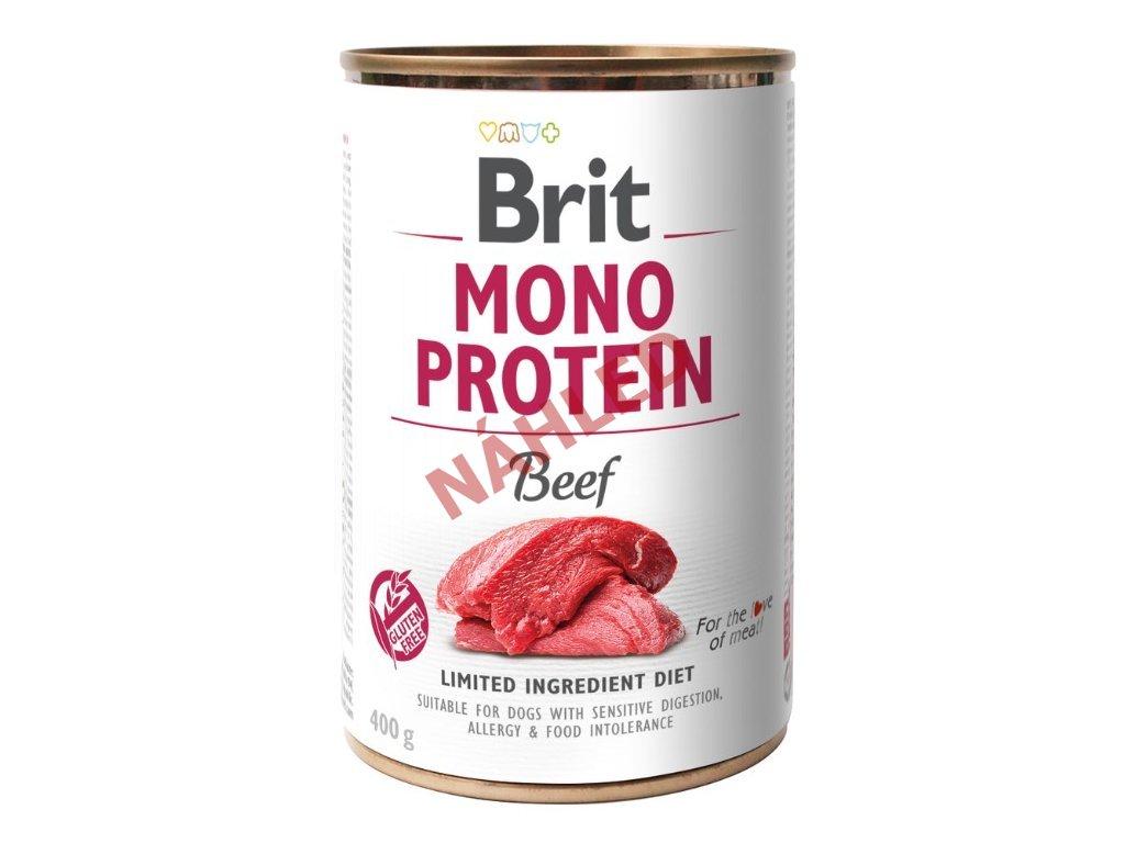 Brit mono protein beef 400g