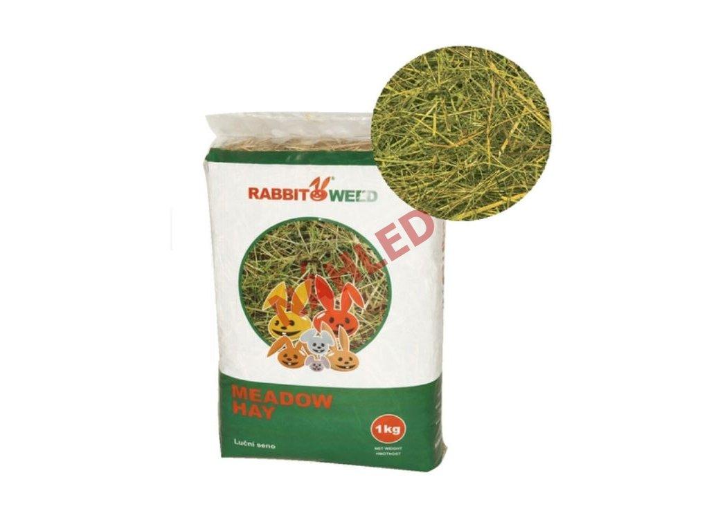 Rabbit Weed luční seno 1kg