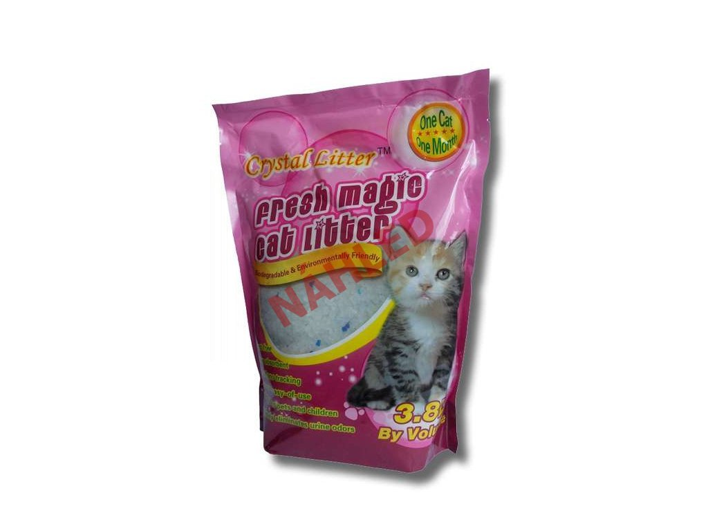 2076 crystal cat litter 3 8 litru