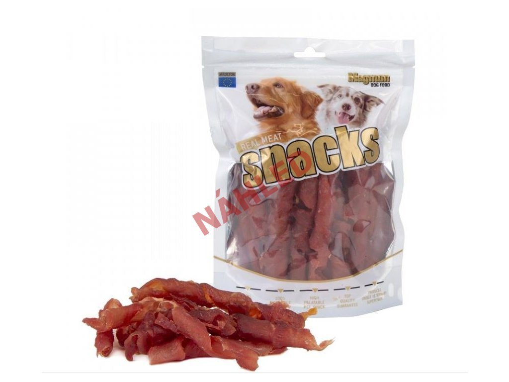 Magnum sušené maso pro psy - kachní rolky 250g