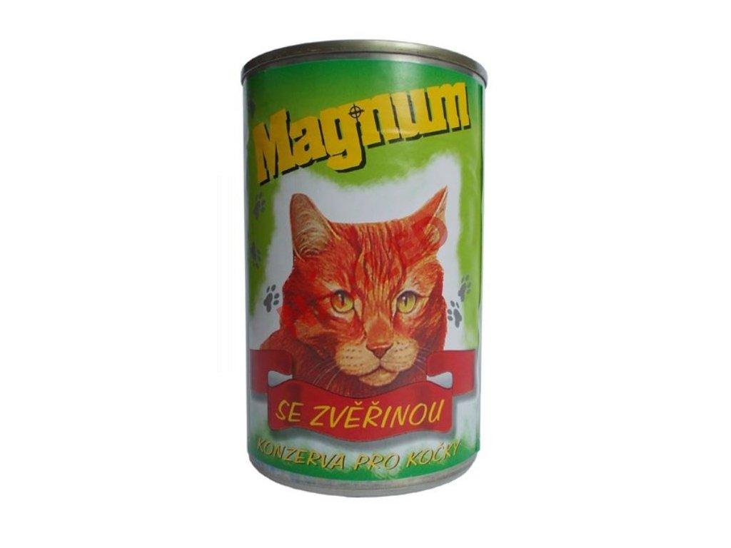 Magnum konzerva pro kočky se zvěřinou 410g