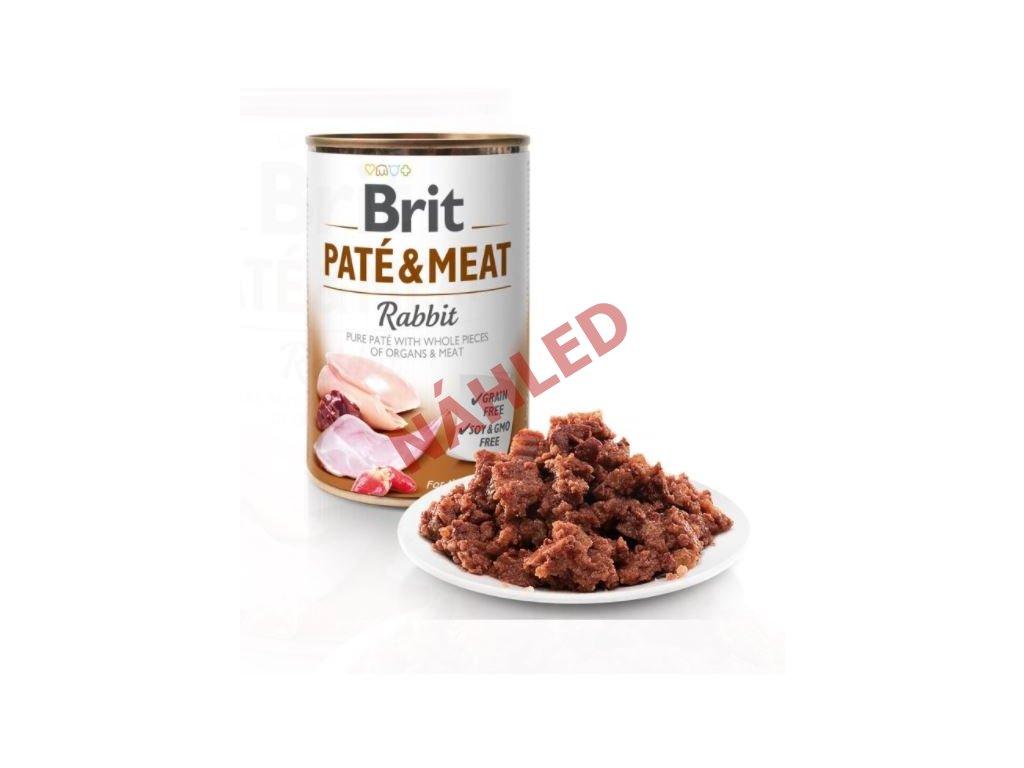 Brit Paté & Meat Rabbit 800g