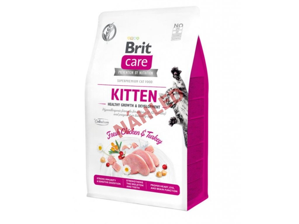 Brit Care Cat Grain-Free Kitten Healthy Growth & Development 400g