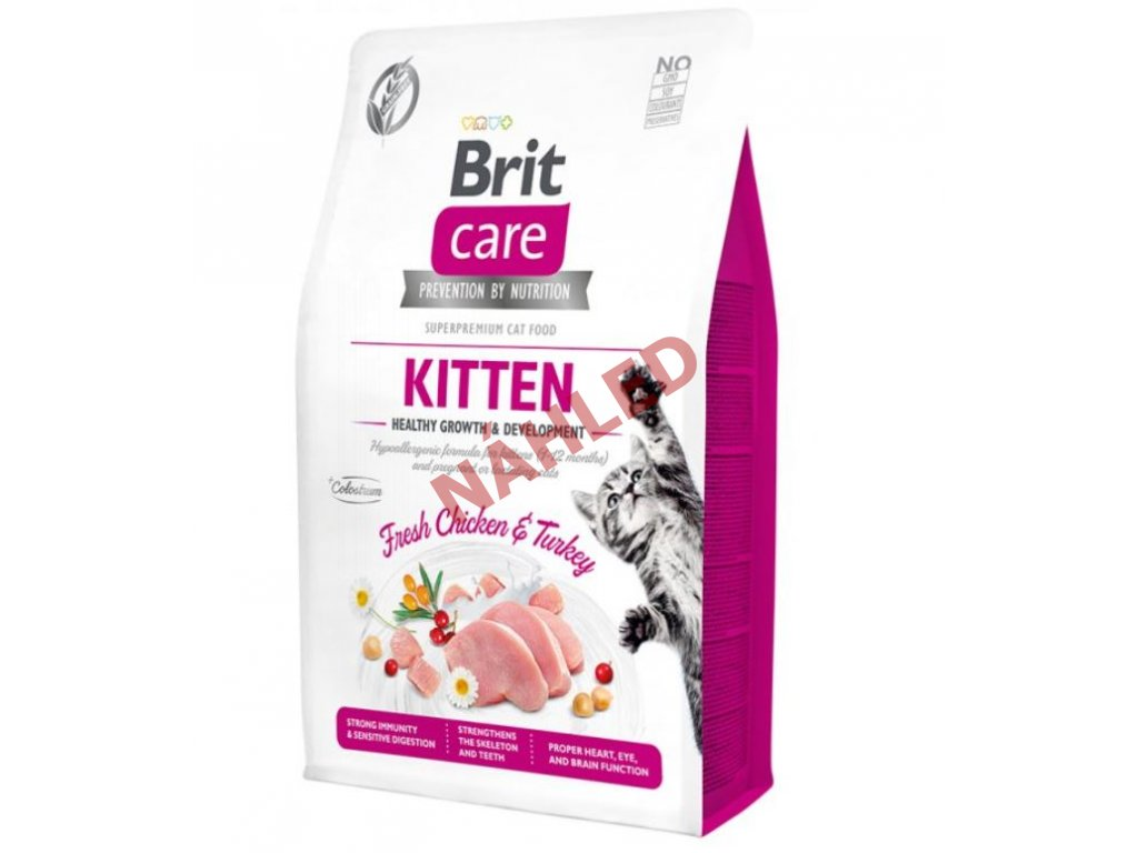 Brit Care Cat Grain-Free Kitten Healthy Growth & Development 2kg