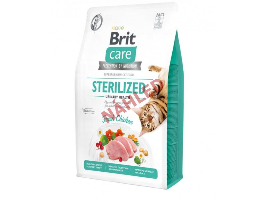 Brit Care Cat Grain-Free Sterilized Urinary Health 2kg