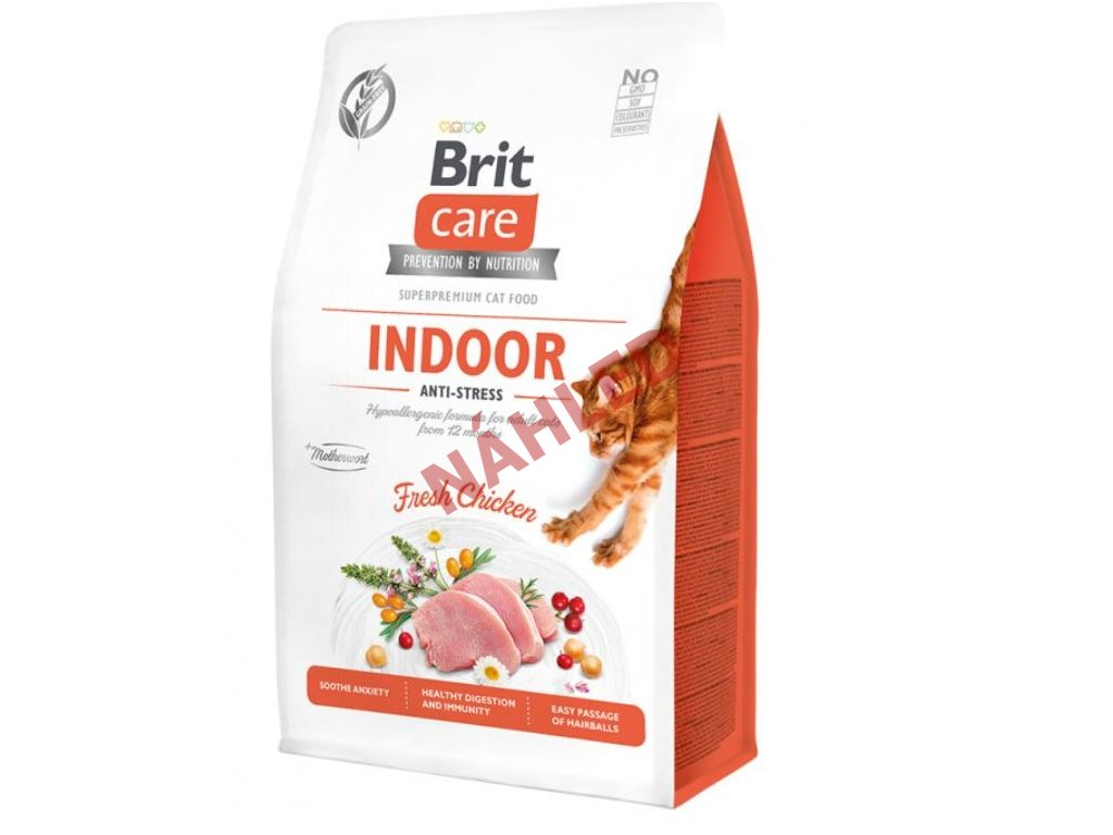 Brit Care Cat Grain-Free Indoor Anti-stress 400g