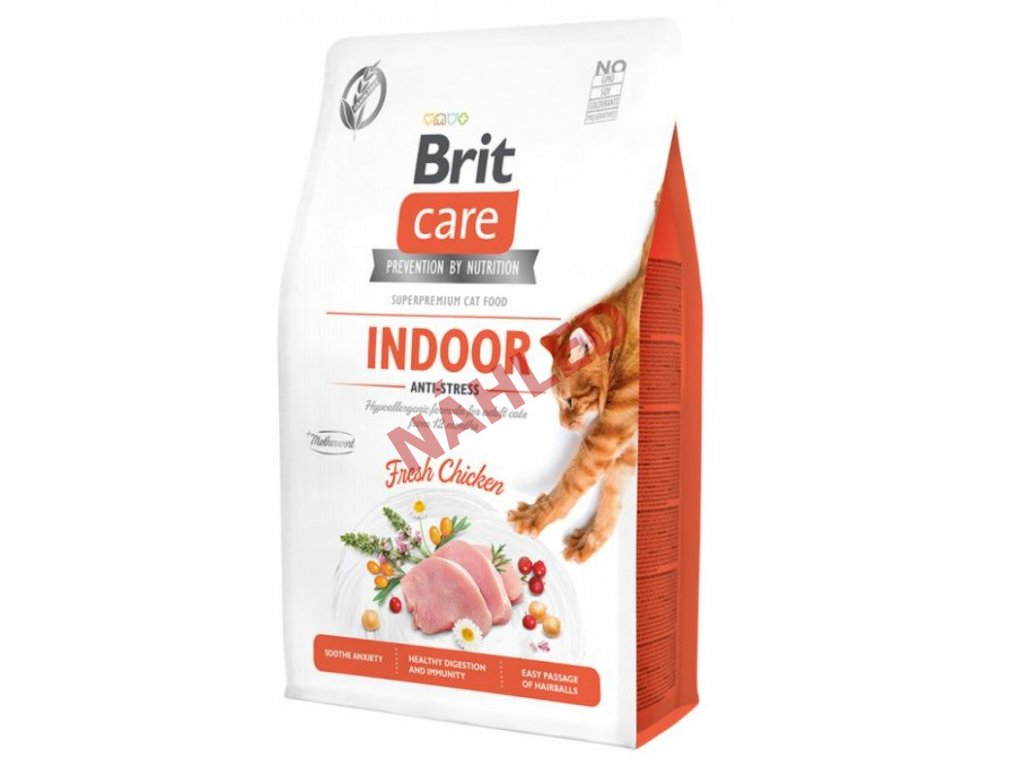 Brit Care Cat Grain-Free Indoor Anti-stress 2kg