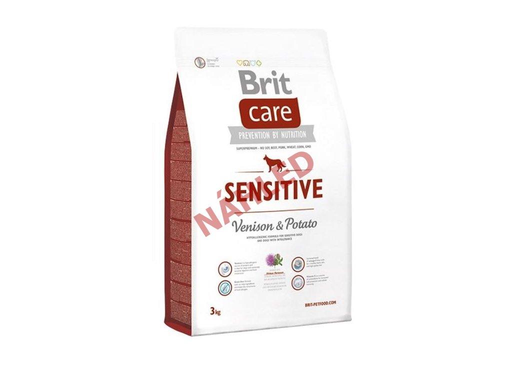 Brit Care Sensitive Venison & Potato 3kg