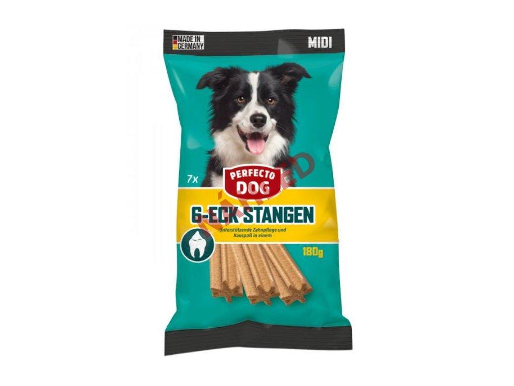 Perfecto dog dentální hvězda MIDI 7 ks