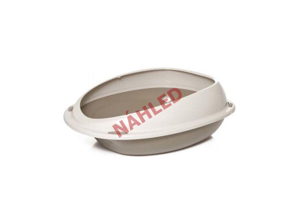 WC shuttle s okrajem 57 cm