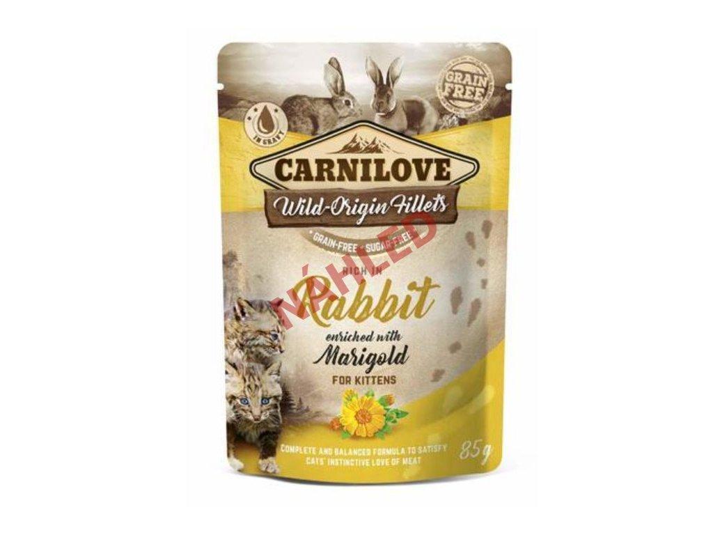 Kapsička CARNILOVE rabbit with marigold 85g