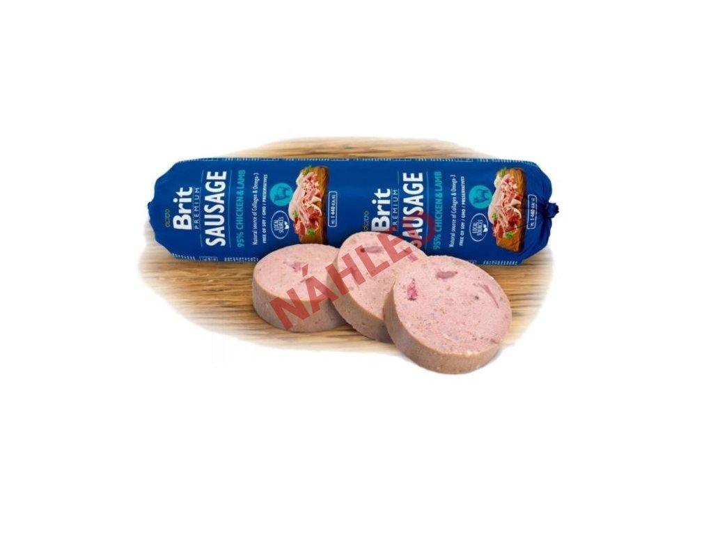 Brit sausage chicken & lamb 800g