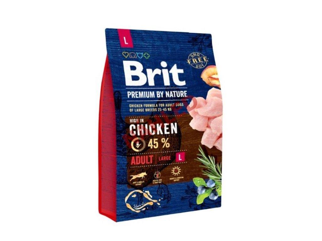 Brit Premium by Nature Adult L 3 kg