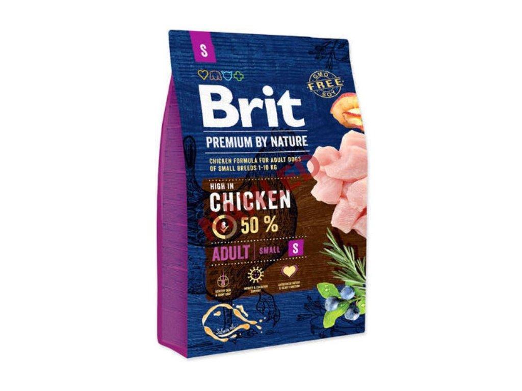 Brit Premium by Nature adult chicken S 3 kg