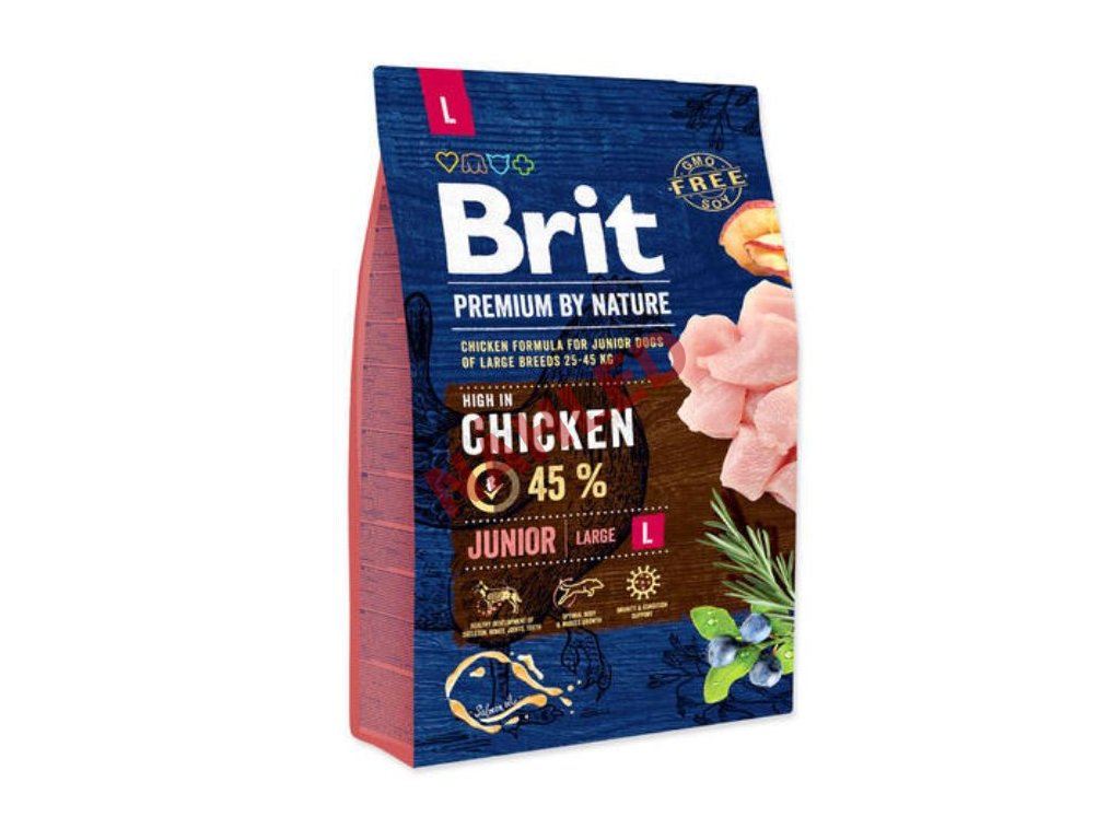 Brit Premium by Nature junior chicken L 3 kg