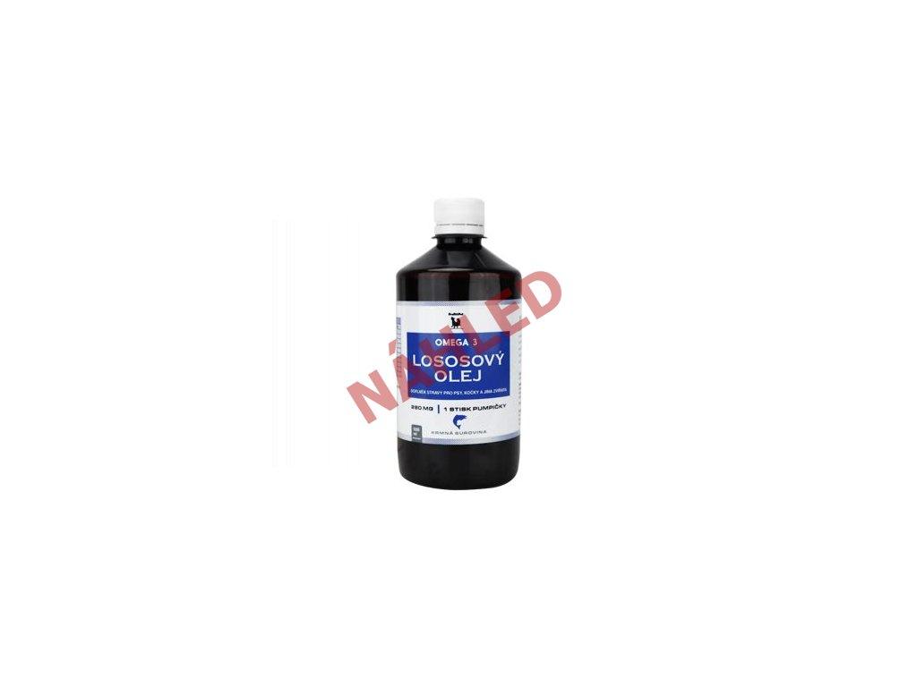 Lososový olej 100% surový ProFitPet 500ml