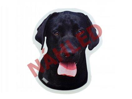 Samolepka Labradorský retrívr černý
