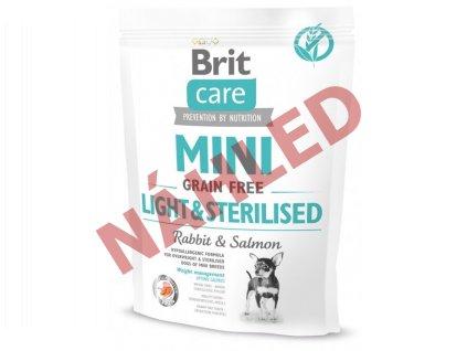 Brit Care mini grain free light&sterilised 400g
