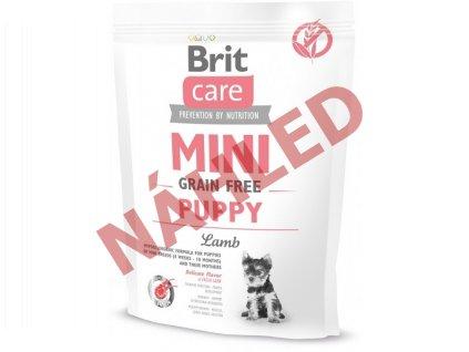 Brit Care mini grain puppy lamb 400g