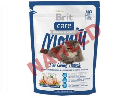 Brit Care Cat Monty living indoor 400g