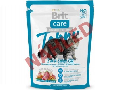 Brit Care Cat Tobby large cat 400g
