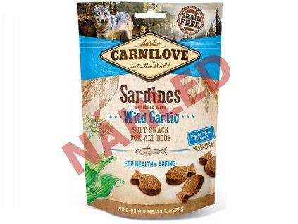 Carnilove Dog Soft Snack Sardines With Garlic 200g