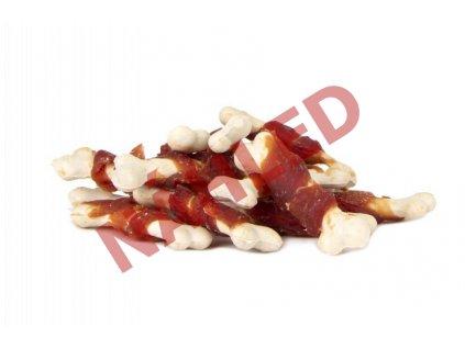 Kalciová kostička omotaná kachním masem