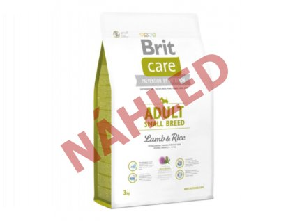Brit Care Adult small breed lamb and rice 3kg