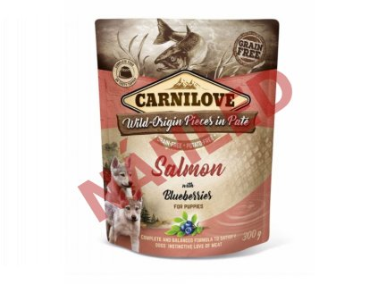 Kapsa Carnilove Salmon with blueberries 300g