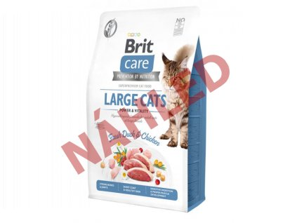 Brit Care Cat Grain-Free Large cats Power & Vitality 2kg