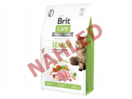 Brit Care Cat Grain-Free Senior Weight Control 400g