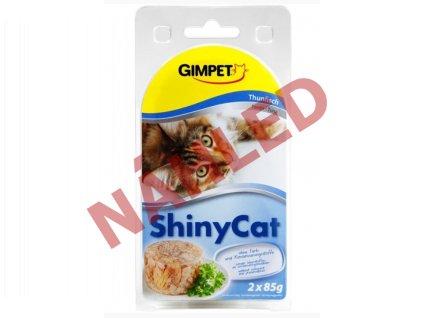 Gimpet konzerva pro kočky ShinyCat tuňák 2x70g