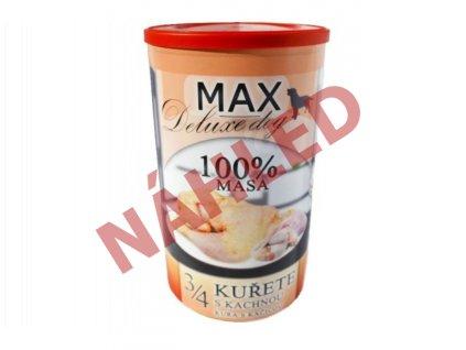 MAX deluxe 3/4 kuřete s kachnou 1200g