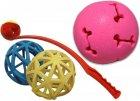 míčky a vrhače míčků pro psy