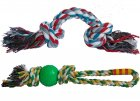 lana a přetahovadla-hračka pro psy