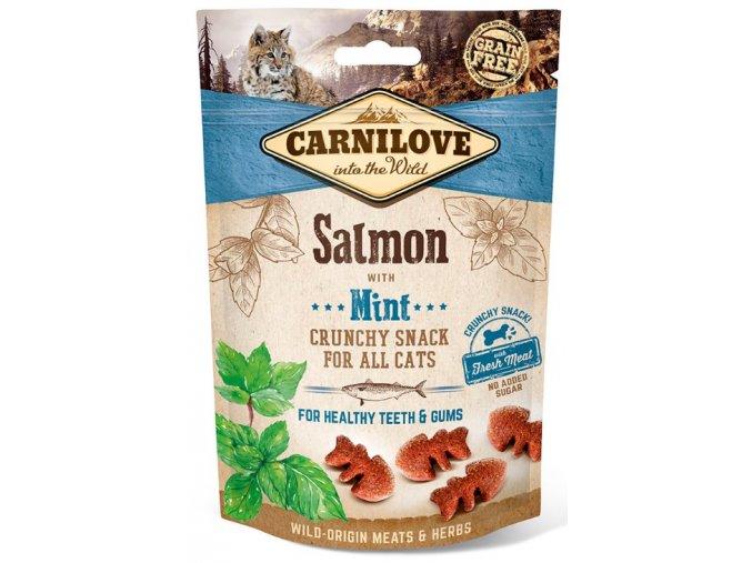 carnilove-cat-crunchy-snack-salmon-mint-50g