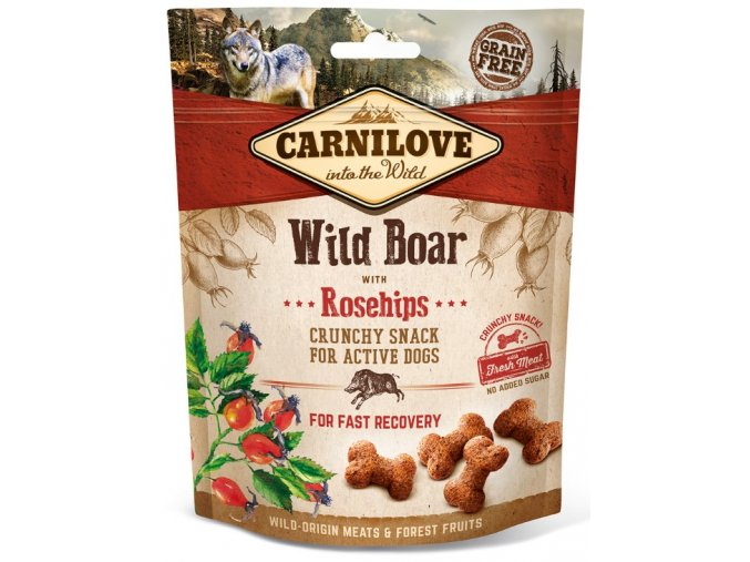 carnilove-dog-crunchy-snack-wild-boar-rosehips-200g