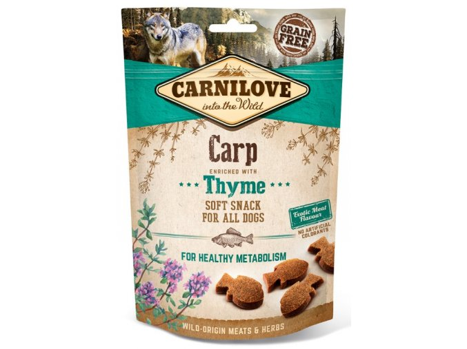 carnilove-dog-semi-moist-snack-carp-thyme-200g