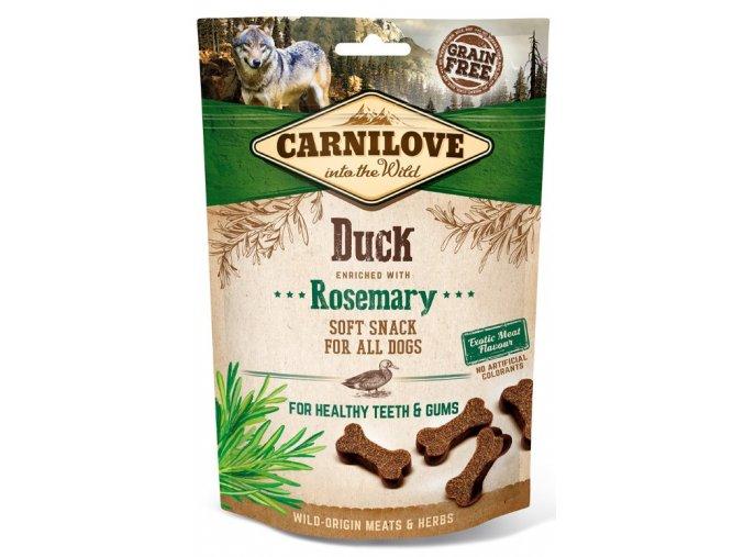 carnilove-dog-semi-moist-snack-duck-rosemary-200g