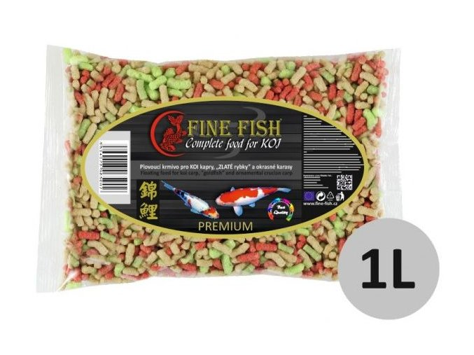fine fish koi sticks 1 litr