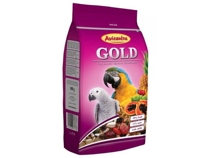 avicentra-velky-papousek-gold-850g