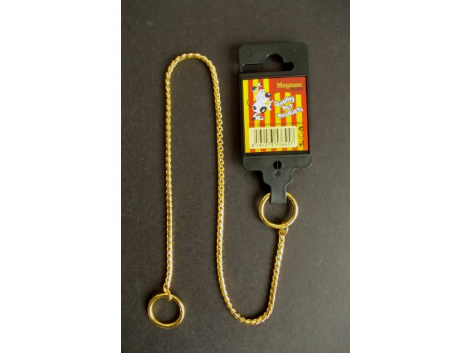 obojek-stahovaci-gold-3mm-x-40cm