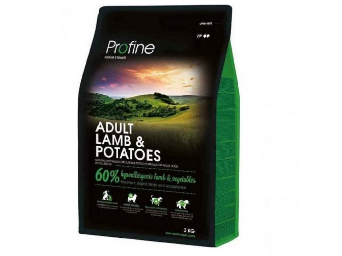 profine new dog adult lamb potatoes 3 kg